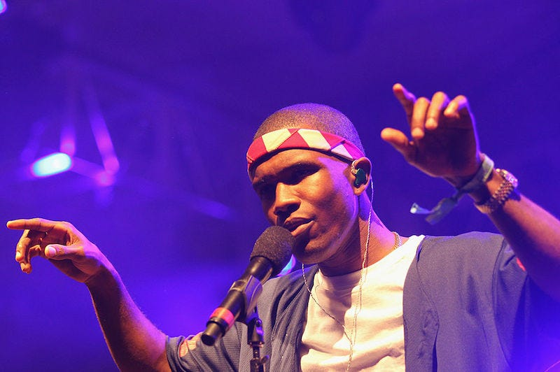 Frank Ocean has cancelled another festival headline set