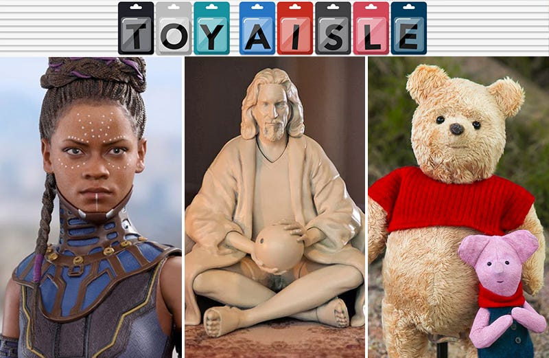 Illustration for article titled A Wakandan Princess, the Dude, a Big Satisfying Pooh, and More of the Most Wallet-Draining Toys of the Week