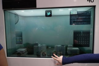 Illustration for article titled Samsung's Transparent LCD Now Runs on Ambient Light