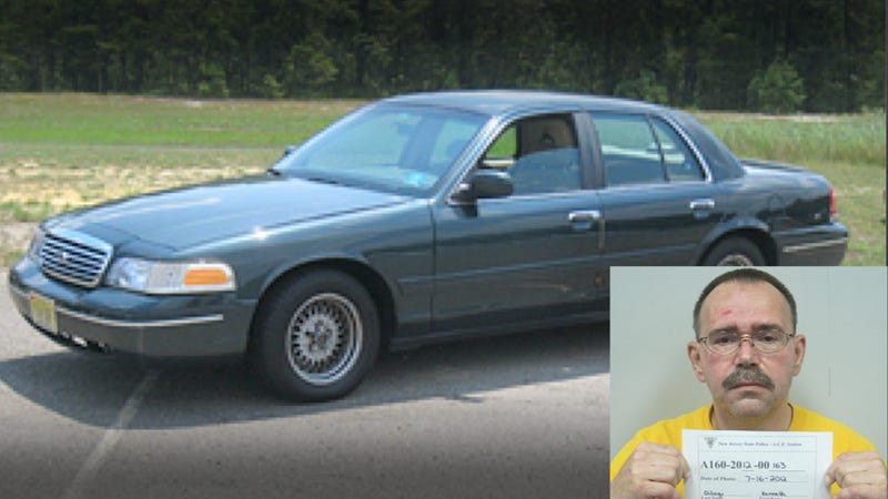 Illustration for article titled This New Jersey Crown Victoria Owner Was Arrested For Acting Like A Cop