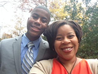 Christy Oglesby and her son, Drew, a quintessential gentlemanCourtesy of CHRISTY OGLESBY