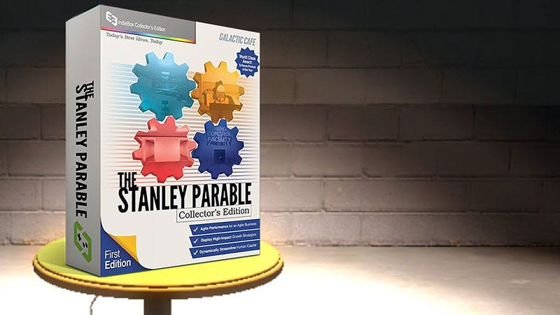 Illustration for article titled The Perfect Box Art For The Stanley Parable