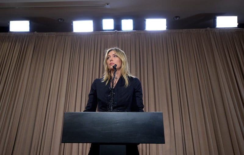 Illustration for article titled Maria Sharapova Claims She Didn't Click The Link That Would Have Told Her Her Drug Was Banned