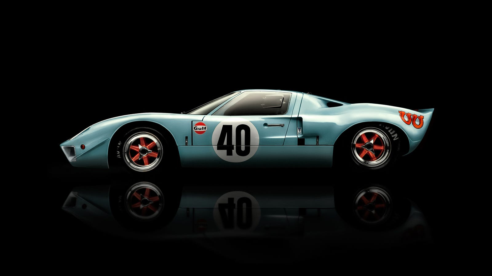 Would You Pick Someone Up From The Airport In A Gt40-5420