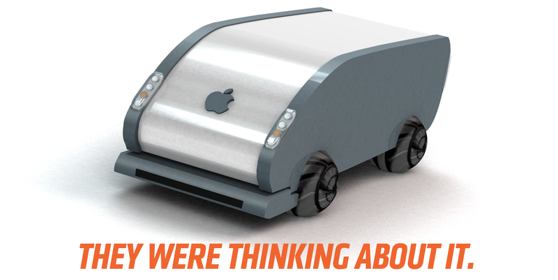 Illustration for article titled Apple Wanted To Replace Cars' Wheels With Balls