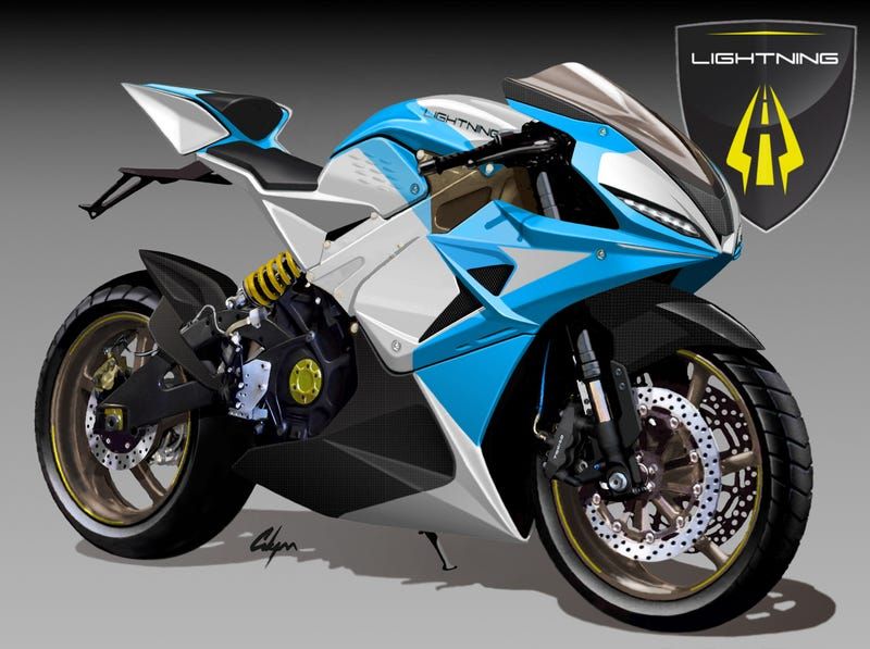 Illustration for article titled This Electric Bike Will Be The World's Fastest Production Motorcycle