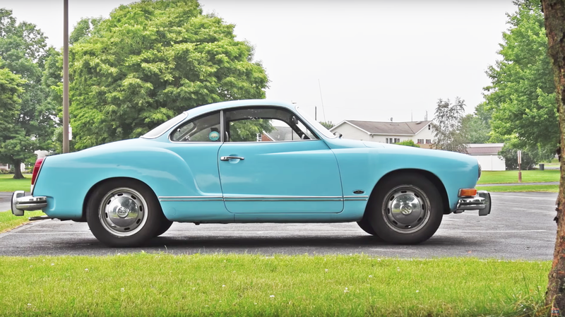 Here's A Karmann Ghia And I Just Hrrnng Wrrrnnng It's So Magnificent
