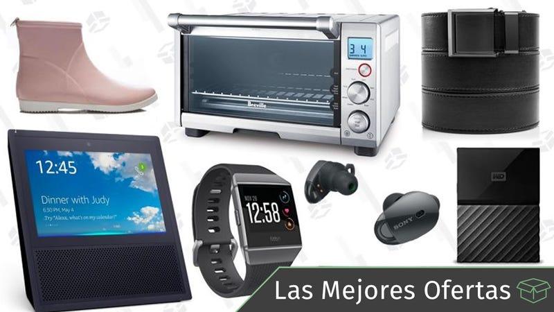 Illustration for article titled Las mejores ofertas de este lunes: Cinturones, hornillo inteligente Breville, Fitbits y más