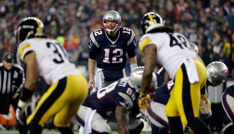 pretty nice e91ce 6bbc4 Tom Brady Owns The Steelers