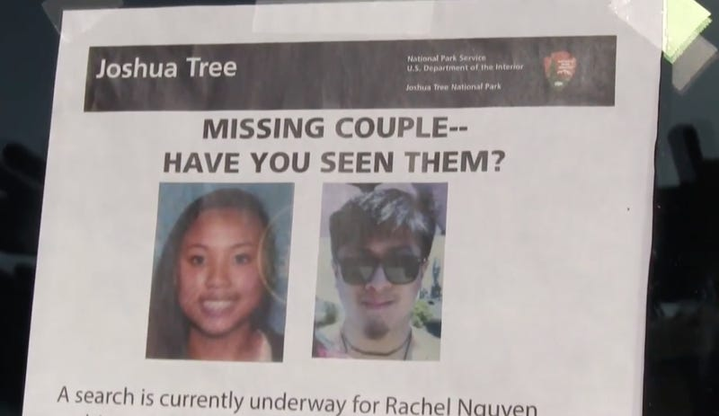 Missing California hiker killed girlfriend, then himself, detectives believe