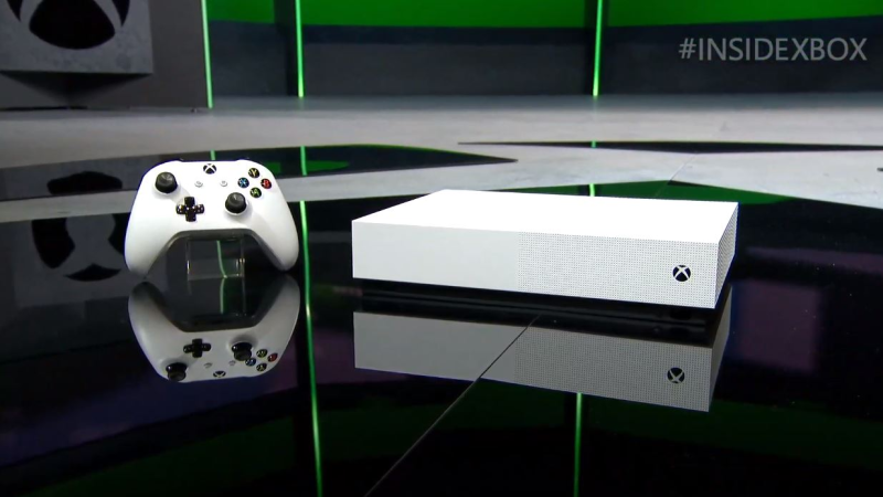 Illustration for article titled Xbox One S All-Digital Edition, la nueva consola de Microsoft sin lector de discos, saldrá en mayo y costará $250