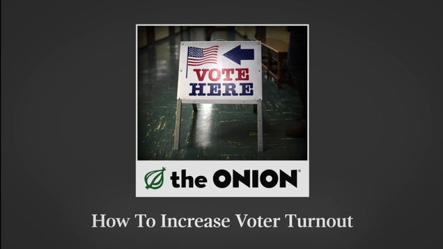 How To Increase Voter Turnout