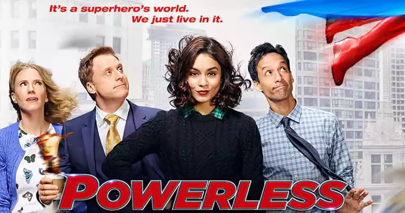 Illustration for article titled Powerless TV Series Name Says It All