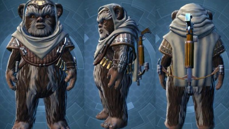 Illustration for article titled Ewoks for Sale Outrages Some Star Wars: The Old Republic Subscribers