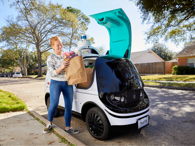 Car Service Nuro Cleared For Driverless Deliveries In California