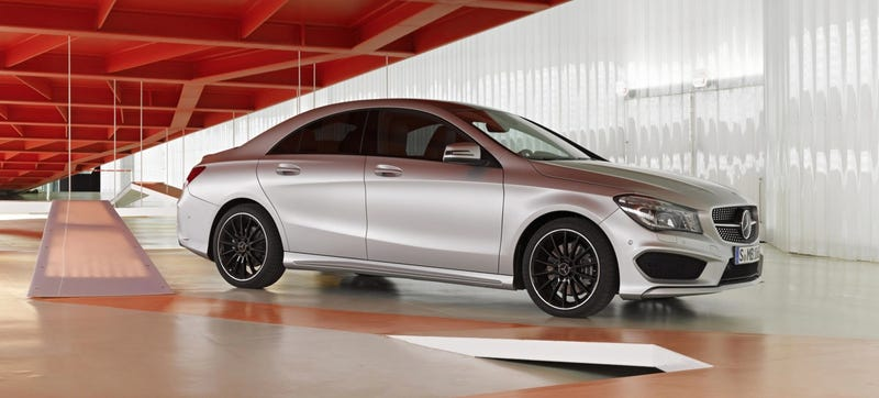 Consumer Reports Thinks The Mercedes CLA Is A Really Nice Civic - Really hot cars