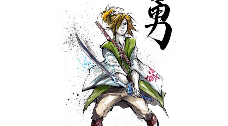 The Heroes and Villians of The Legend of Zelda, In Samurai Form