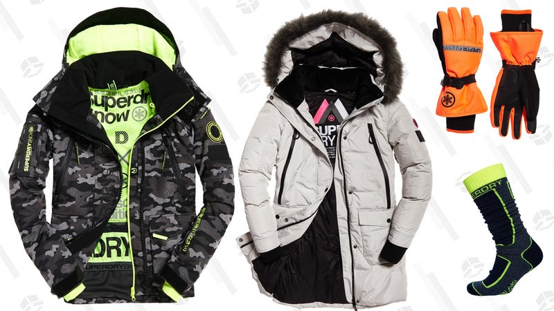 50% Off Men's and Women's Ski Apparel | Superdry
