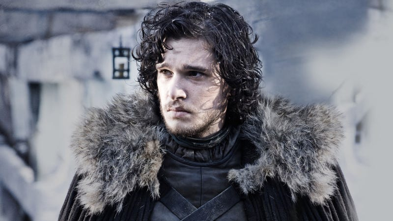 Illustration for article titled Jon Snow gets ahead with the ugly fellow