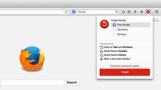 """La mejor novedad del nuevo Firefox es su botón de """"olvidar"""""""