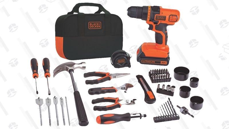 Black & Decker 20V Tool Set | $57 | Amazon