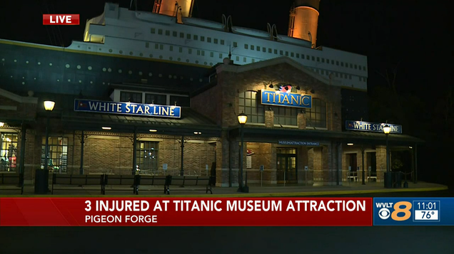 An Iceberg Wall Collapsing at the Titanic Museum Feels Like a Metaphor, But for What?