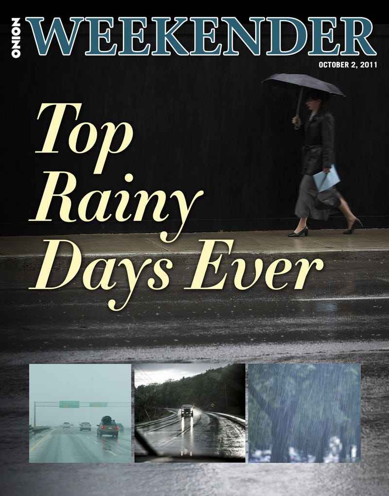 Illustration for article titled Top Rainy Days Ever