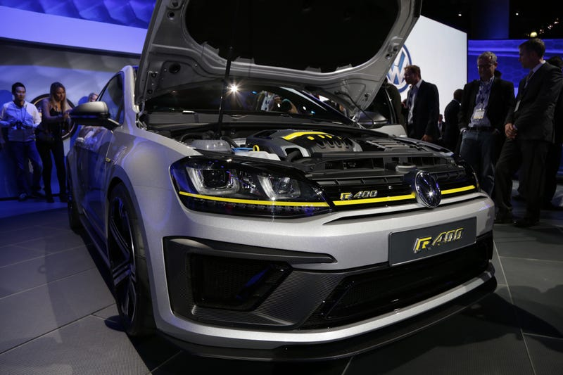 The 395 Horsepower Volkswagen Golf R400 Is Dead