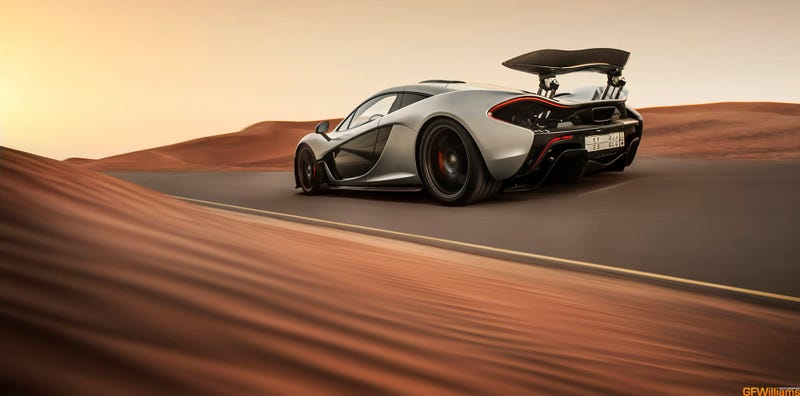 Illustration for article titled The McLaren P1 On Mars