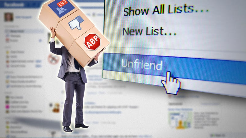 Illustration for article titled How to Declutter Your Facebook News Feed Once and For All