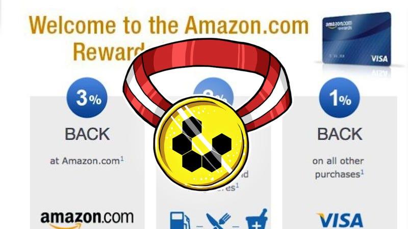 Illustration for article titled Most Popular Rewards Credit Card: Chase Amazon Rewards Visa