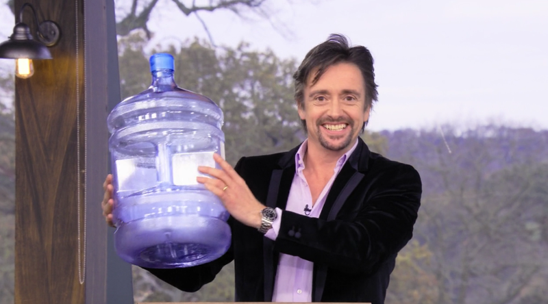 Here's hoping that Richard Hammond packs some water for his scripted shipwreck.