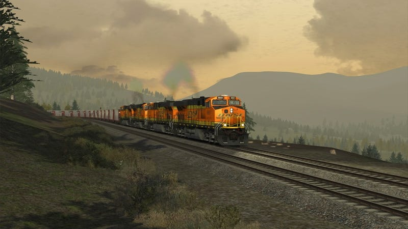 Illustration for article titled The Thrill--Yes, The Thrill--Of A Game Called Train Simulator