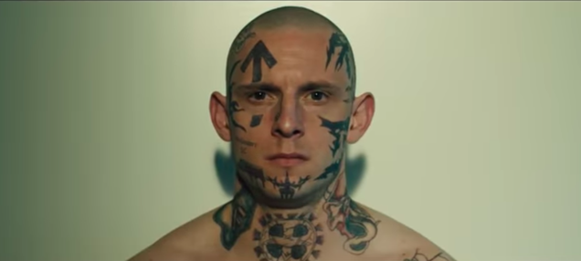 Jamie Bell is a white supremacist in search of redemption in A24's Skin