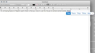 Illustration for article titled Use a Keyboard Shortcut to Correct Misspelled Words on Mac OS X