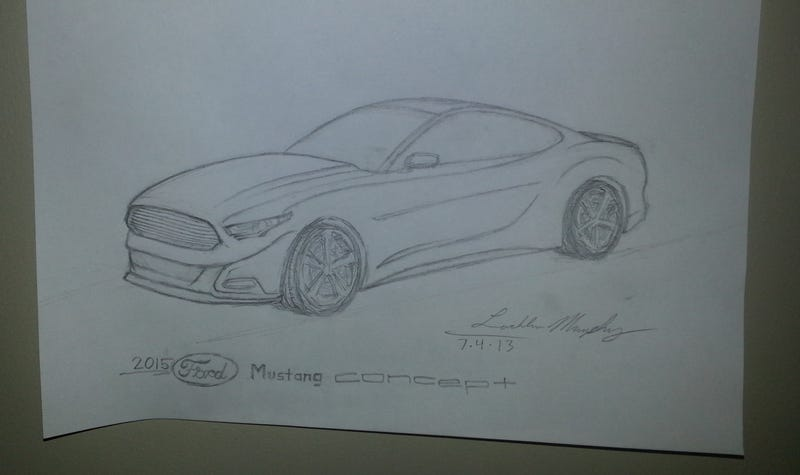 Illustration for article titled My take on the 2014.5 'Stang