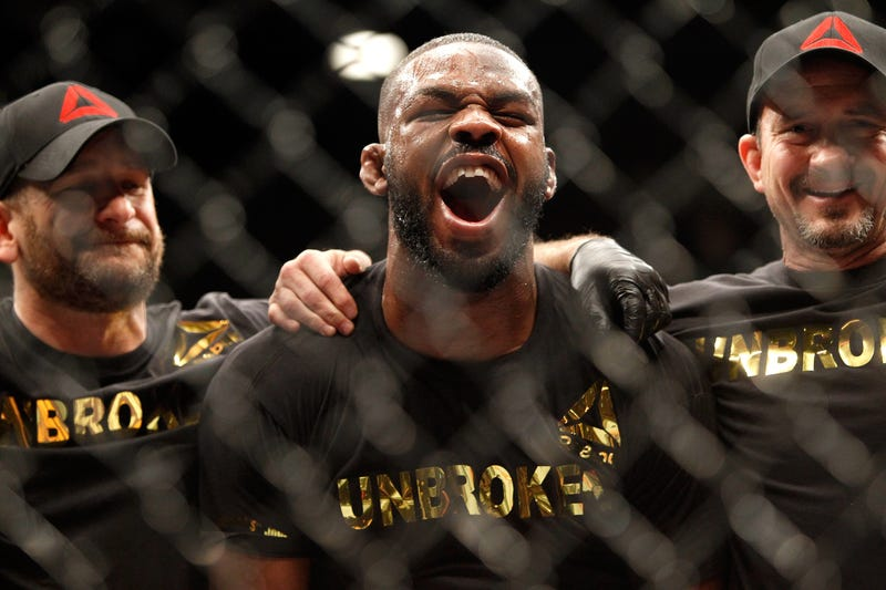 Illustration for article titled Jon Jones Reinstated In The UFC, Will Presumably Claim Whatever Titles He Wants