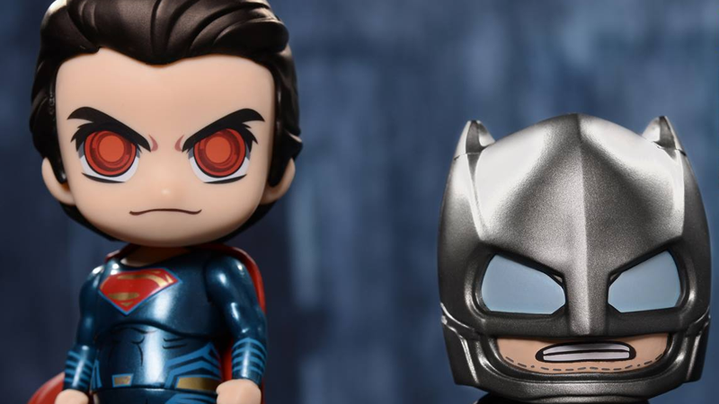 Illustration for article titled Hot Toys' Baby Batman and Superman Are Super Adorable