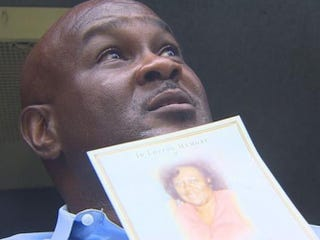 Bruce Lawson said the funeral home buried the wrong woman in the family plot.KHOU11 Screenshot