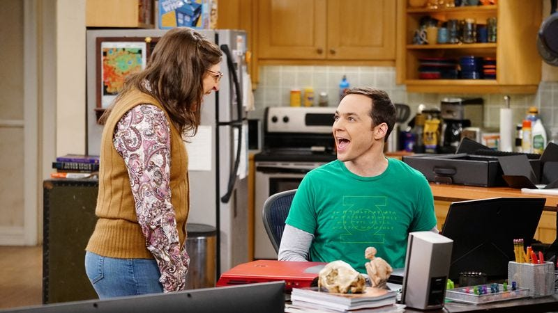 Illustration for article titled Sheldon and Amy prove that The Big Bang Theory can mature gracefully