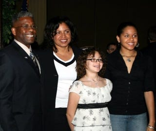 Rep. Allen West and his very accomplished family (Google)