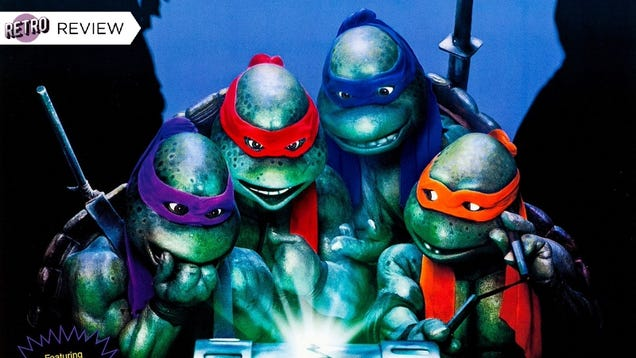 Happy Birthday to Teenage Mutant Ninja Turtles II: The Secret of the Ooze