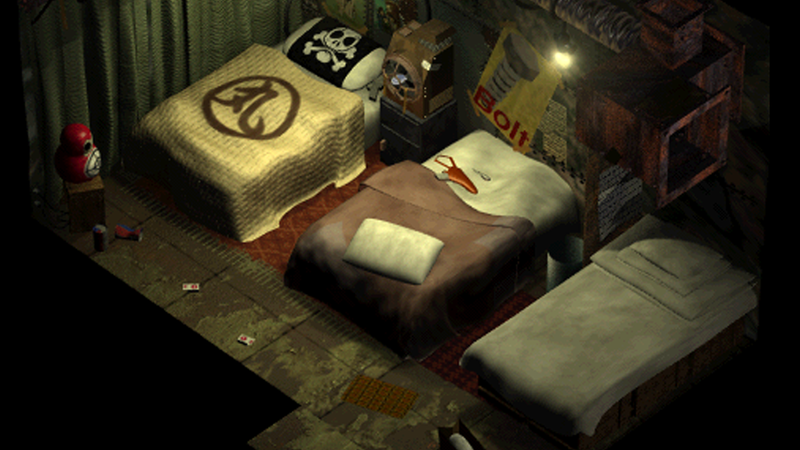 There Are A Lot Of Beds In Final Fantasy VII