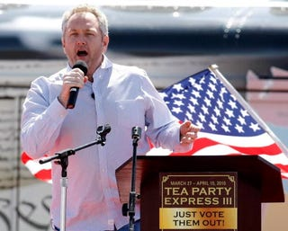 Right-wing extremist Andrew Breitbart