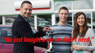 Illustration for article titled The Dealership Is Not Really Desperate For Your Trade