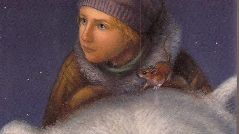Image: Cover art for The Golden Compass