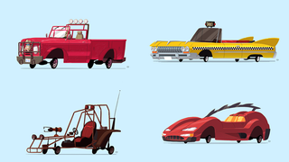 Illustration for article titled Ten Video Game Vehicles With A Cartoony Redesign