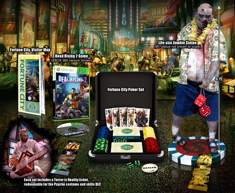Illustration for article titled Capcom Ups The Ante With The Dead Rising 2 High Stakes Edition