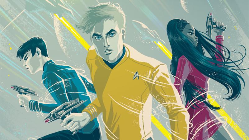 Star Trek: Boldly Go #1 cover by George Caltsoudas