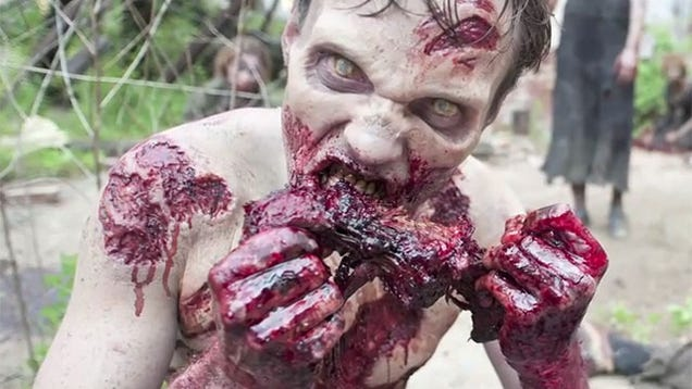What The Walking Dead's Zombies Are Actually Eating